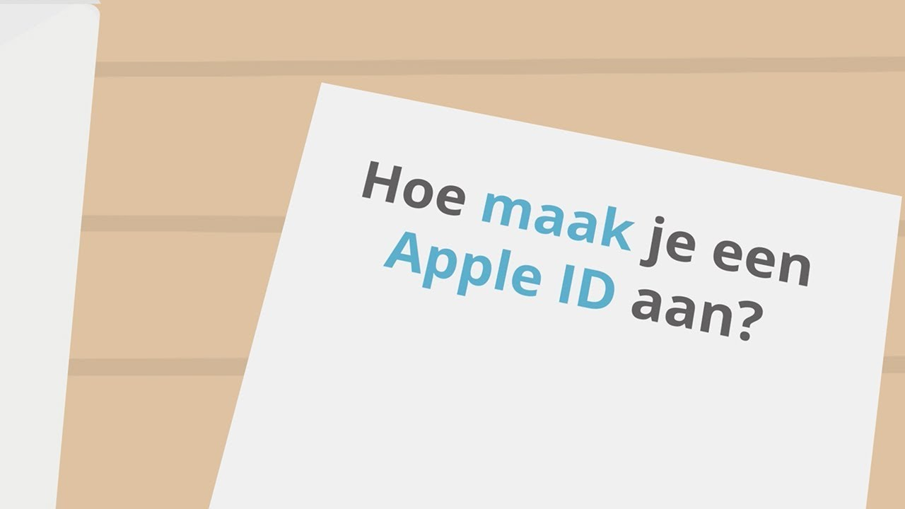 Apple Developers Account Stap 1 Apple Id Aanmaken Concapps
