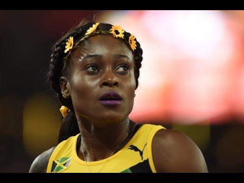 Elaine Thompson  DESTROYS women's 100m - Jamaica senior trials 2017 - Nuffin' Long Athletics