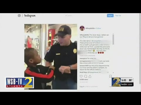 Police chief defends officer after controversial video of 12-year-old's arrest