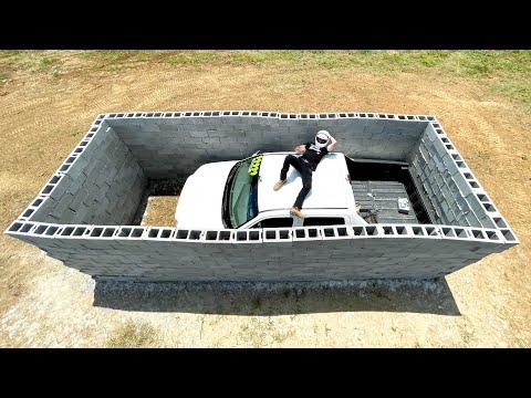 Honda Ridgeline VS Brick Wall Test.