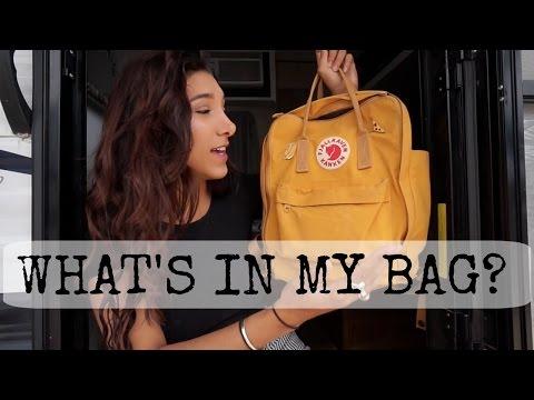 What's in my Bag?    Nomad & Travel Edition   Fjallraven Kanken