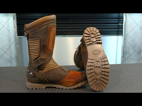 ICON 1000 Prep Waterpoof Boots   Motorcycle Superstore YouTube