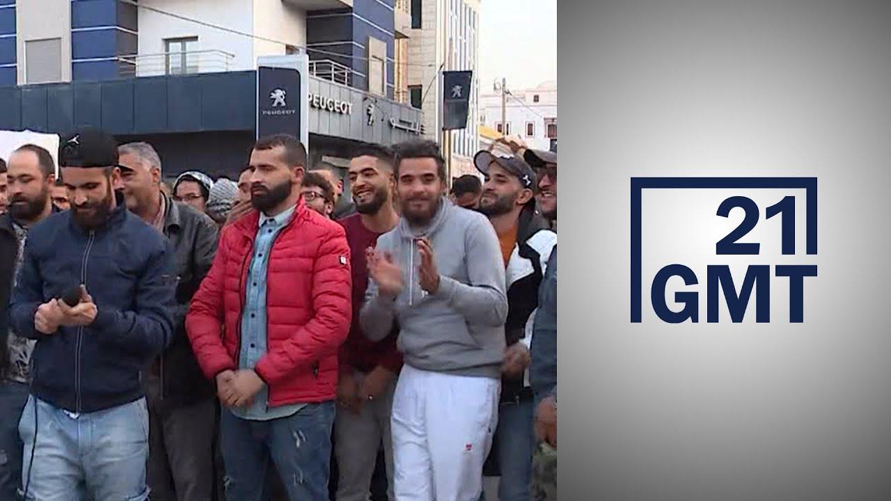 محتجو تطاوين التونسية يخططون لبدء إضراب عام  - 05:56-2021 / 2 / 23