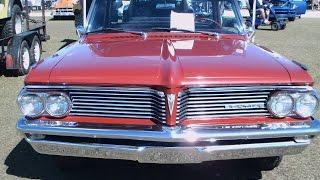 1962 Pontiac Parisienne Four Door Hardtop RedWht SumterFG021216
