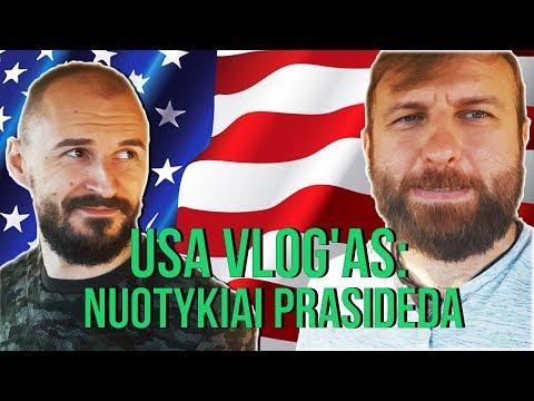 USA VLOG'as #1: NUOTYKIAI PRASIDEDA