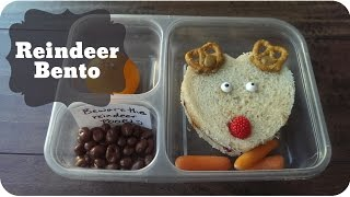 How To Make A Reindeer Bento | Vlogmas 2014 #14