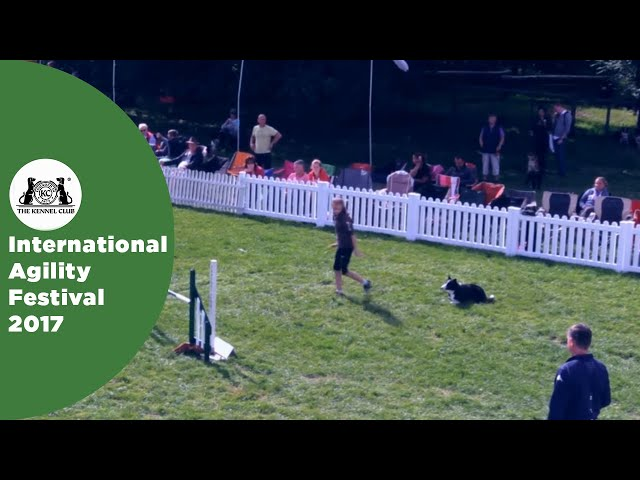 Young Handler of the Year - Large (-12) | International Agility Festival 2017