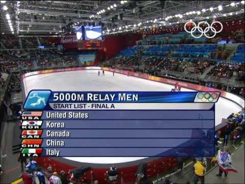Short Track Speed Skating - Men