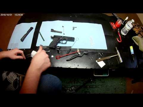 Basic Disassembly and Cleaning of CZ P-01 Pistol