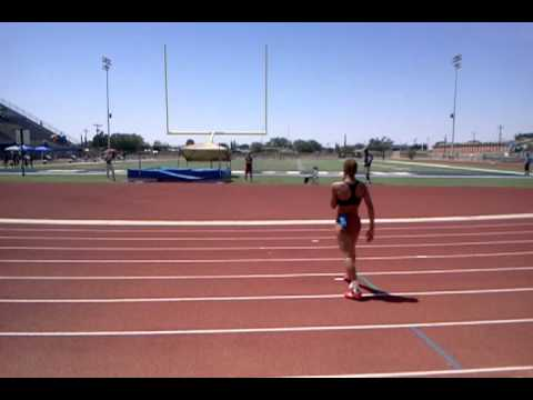 Inika McPherson El Paso Texas jumps 6ft 4in