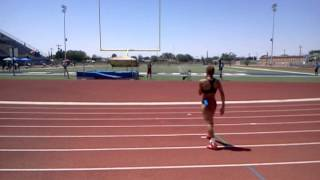 Inika McPherson El Paso Texas jumps 6ft 4in