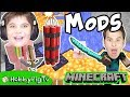 6 Minecraft MODS! We Show You Weapon Mod, Movement Mod + More by HobbyPigTV