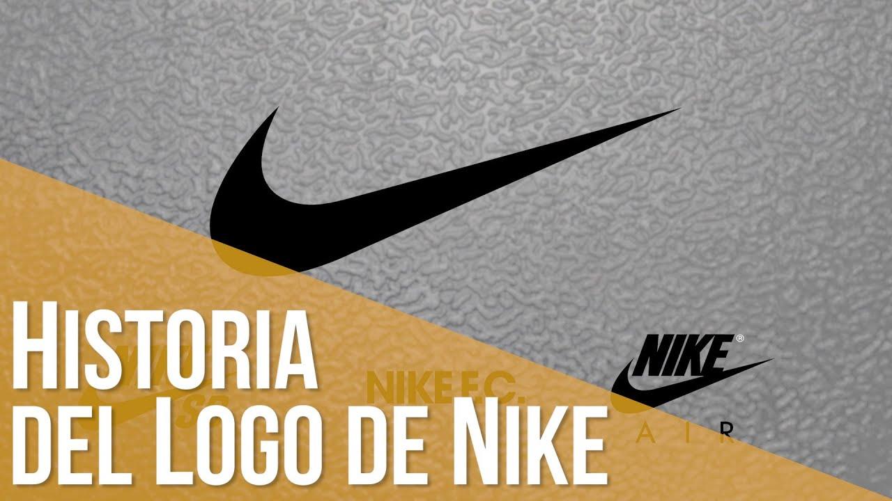 Cadera Satisfacer Transparentemente  Historia del Logo de Nike - YouTube