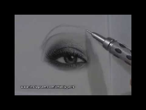 Realism Eye & Eyebrow Drawing