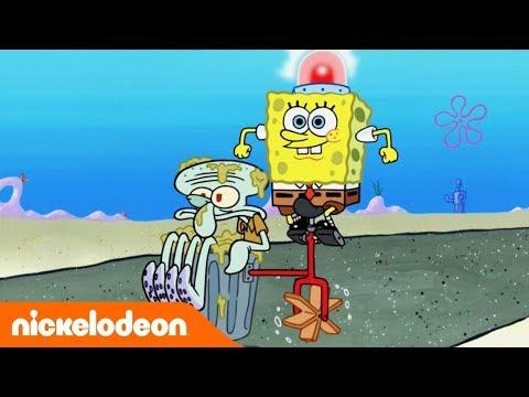 ????Губка Боб Квадратные Штаны | полные эпизоды! | Nickelodeon Россия