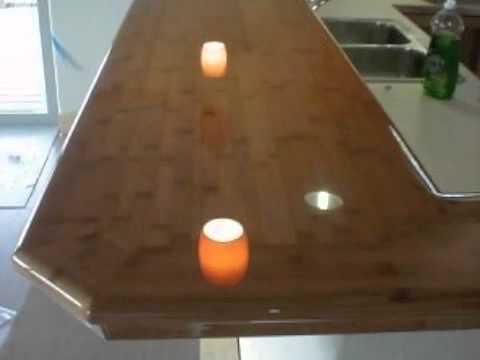 Bamboo Countertops - YouTube