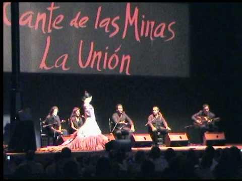 Alegrias Baila la Japonesa Keiko Inoue. y su Grupo Festival Internacional del Cante de las Minas