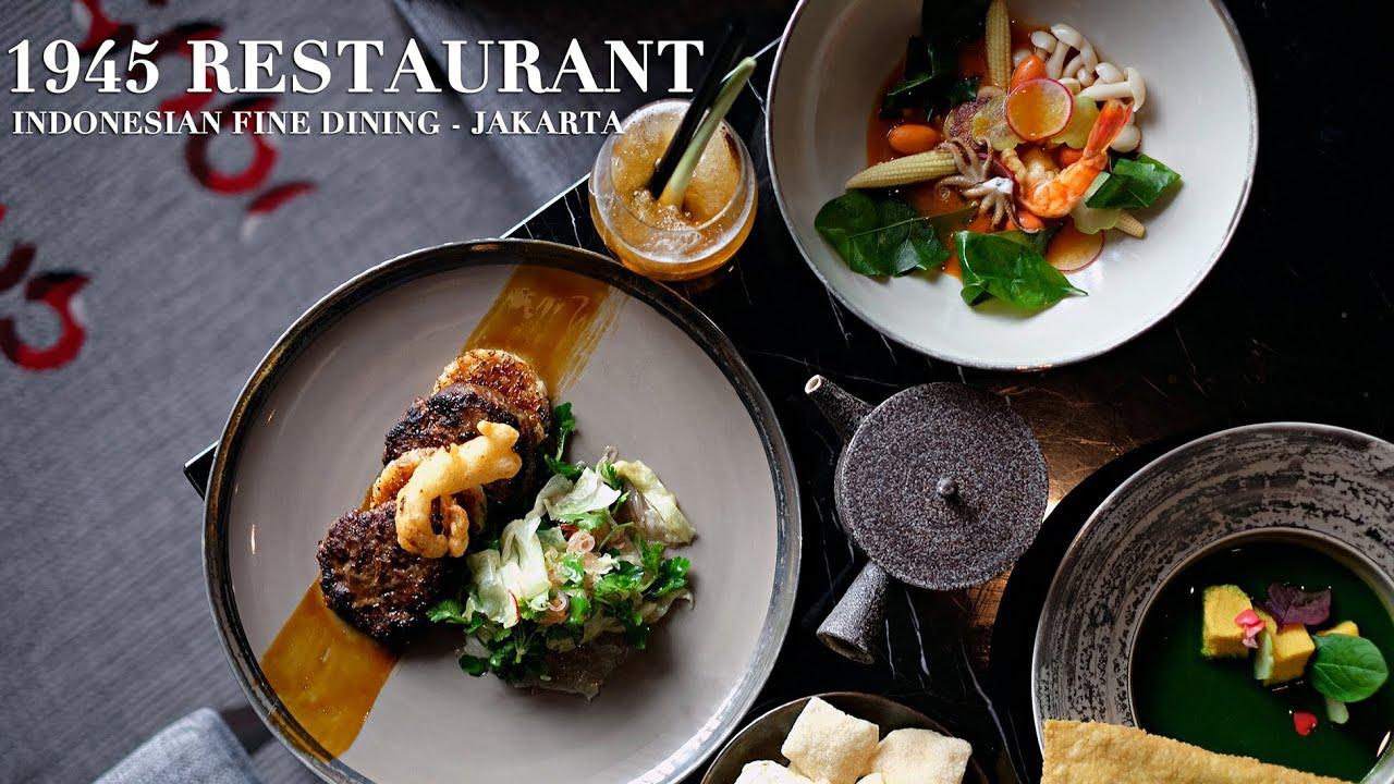 New Menu 1945 Restaurant Fairmont Hotel Jakarta Anakjajan Com