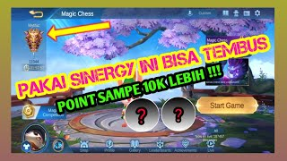 MAGIC CHESS COMBO TERKUAT EASY PUSH SAMPAI POINT 10K | MOBILE LEGENDS BANG BANG