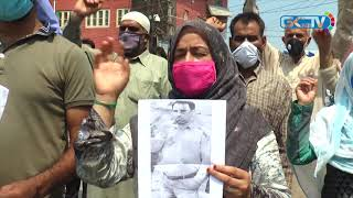 Missing HMT resident's family holds protest to seek his whereabouts