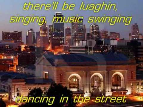 van halen:dancing in the street (with lyrics)