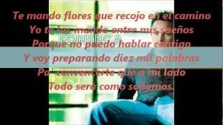 Te mando flores con letra - Fonseca
