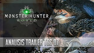 Monster Hunter World | TGS 2017 - Análisis del Trailer [Español]