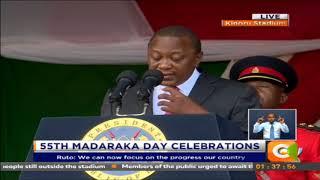 Uhuru Kenyatta: Crucial factors in building real and lasting prosperity