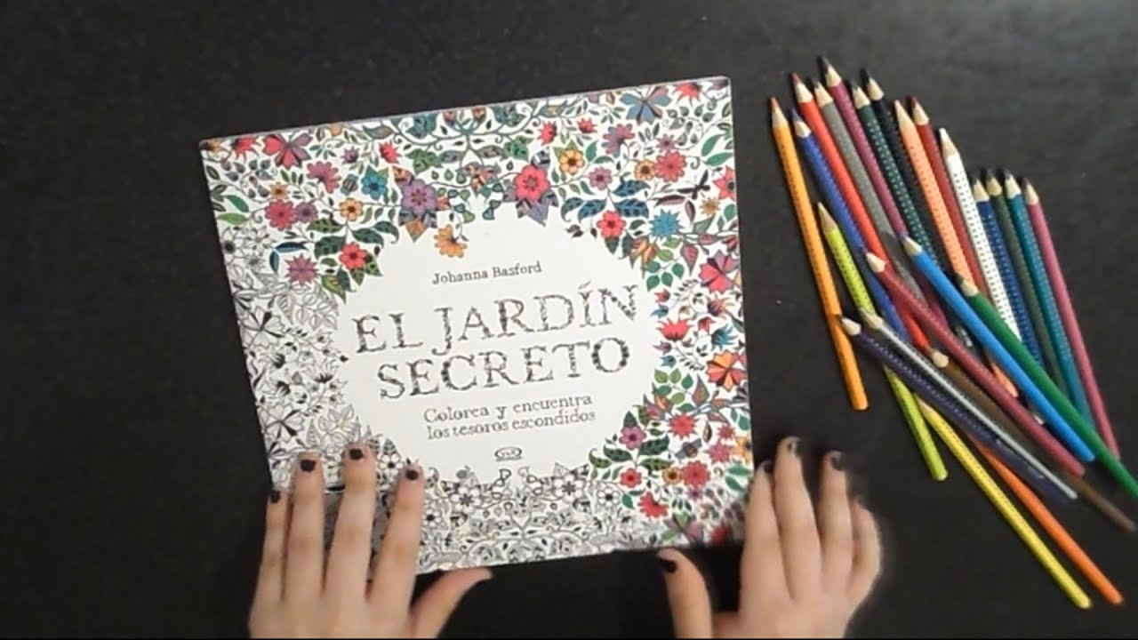 Pintando el jardin secreto iameveling youtube for Cancion secretos en el jardin