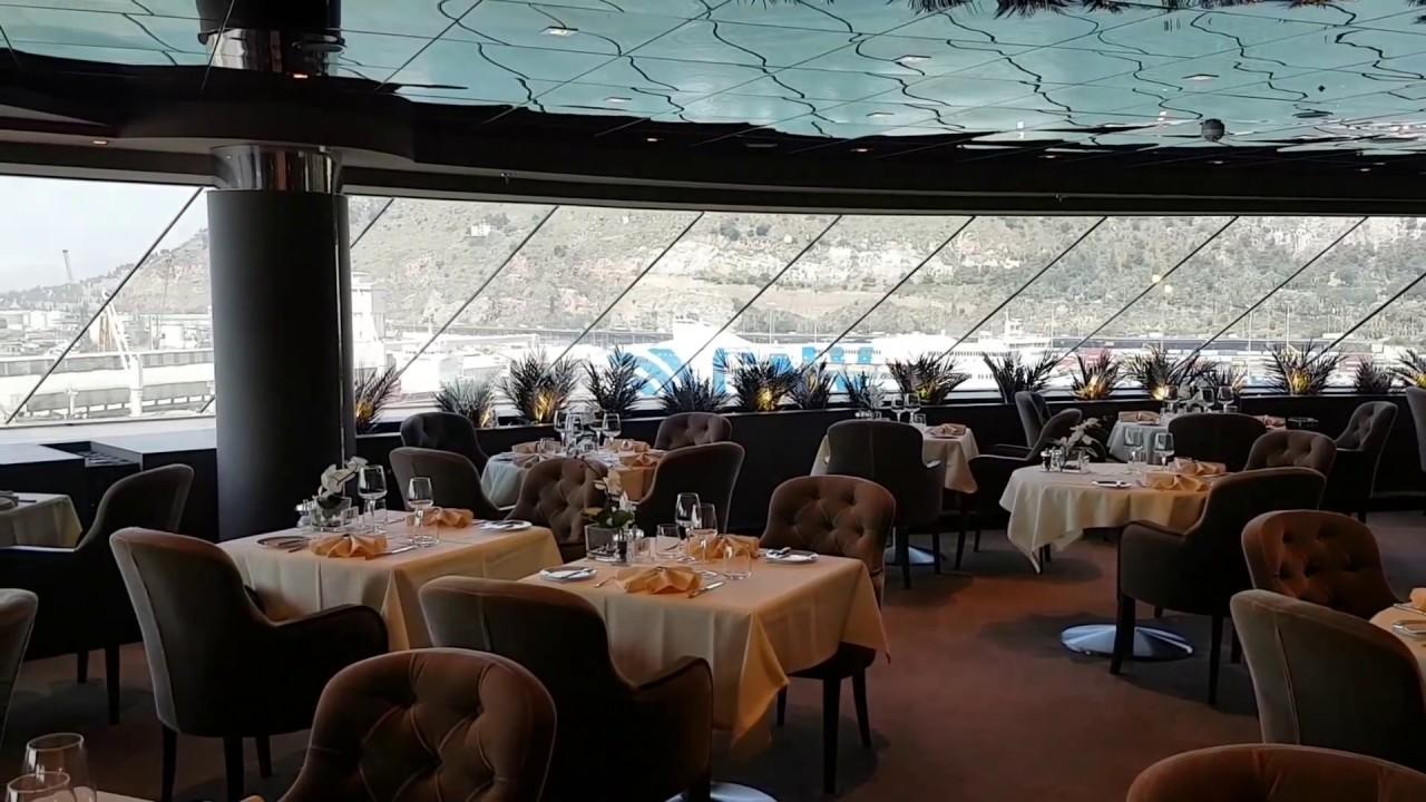 MSC Meraviglia The Yacht Club Restaurant YouTube