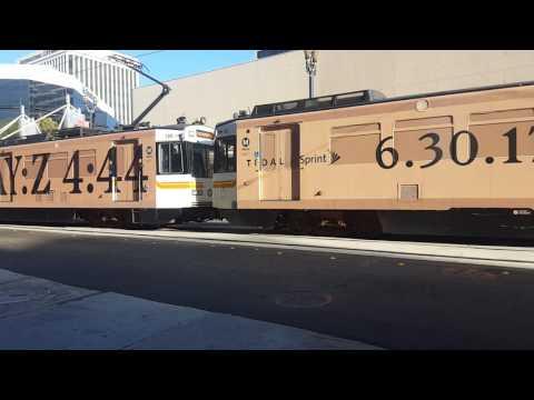 Los Angeles Metro Rail 1989 Nippon Sharyo P865 #117, 113, and #120