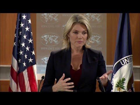 Department Press Briefing - October 17, 2017