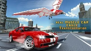Muscle Car Robot Transformation Game - Eagle Hunt (By Game Scapes Inc) Gameplay HD