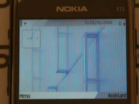 nokia e71 double carte sim 3g hsdpa simore platinum dual sim youtube. Black Bedroom Furniture Sets. Home Design Ideas
