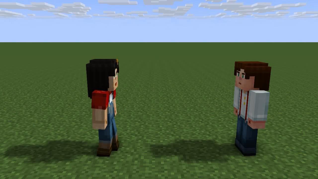 If Male Jesse Met Female Jesse Minecraft Animation Youtube