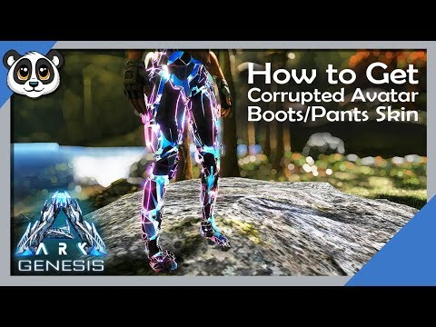 How To Get Corrupted Avatar Boots Pants Skin | ARK: Genesis Chronicles
