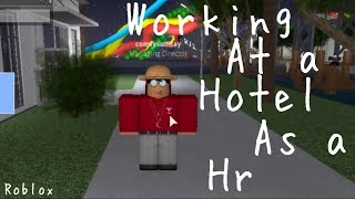 Working At Norwegian Resort | Hotel & Resort//Roblox!!!