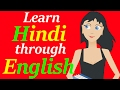 Learn Hindi through English Full course