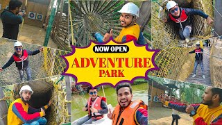 E.O.D Adventure Park Mayur Vihar| Best Amusement Park in Delhi| Adventure Park Delhi |All Rounders