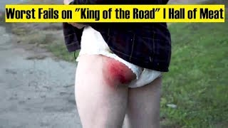 Worst Fails on Thrasher King of the Road | Hall of Meat
