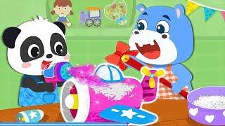 Baby Panda's Kids Crafts DIY & Learn How To Make Toys - Kids Babybus Gameplay