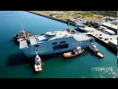 Navy Bid | 9 News Perth