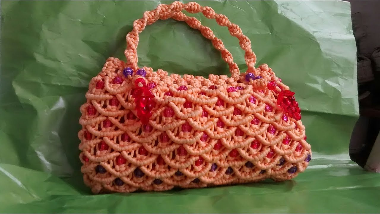 How To Make Diy Macrame Purse For Las And