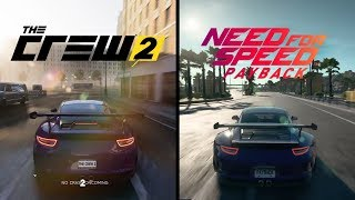 The Crew 2 Vs NFS Payback - Early Graphics Comparison |Drift Event| Free room