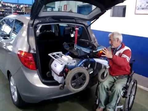 Gr a para silla adaptaci n de veh culos youtube for Sillas para vehiculos