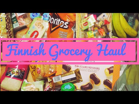 #WHAT #TO #BUY #IN #FINLAND #GROCERY #STORE?! / #FINNISH #GROCERY #HAUL (VLOG 26🤗)