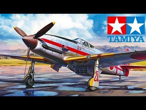 TAMIYA 1/72 Kawasaki Ki-61-Id Hien (video preview)