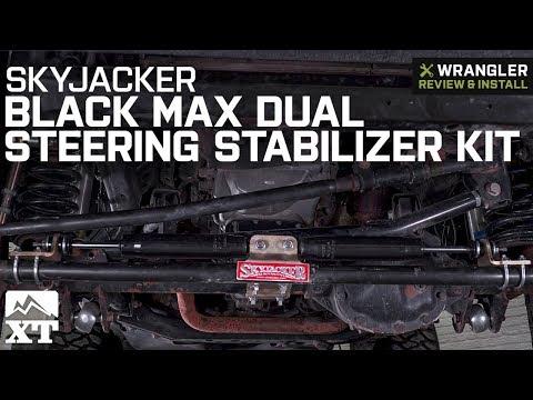 JK Skyjacker 7203 Steering Stabilizer Dual Kit Fits 07-18 Wrangler