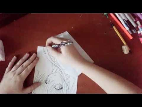 Как нарисовать Канадэ из аниме Ангельские ритмы