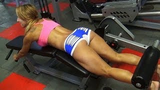 Sexy Butt and Legs Gym Workout with Vicky!
